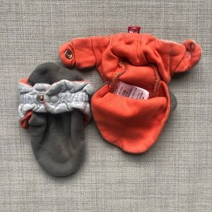 👶🏻 Booties/Swaddles/Head Support Insert Bundle